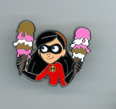 DSF Disney Soda Fountain Pixar The Incredibles Violet PTD Pin Trader's Delight