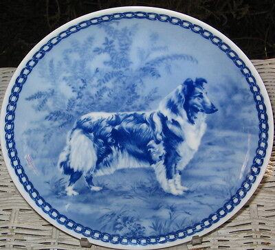 Collie Collectors Plate Denmark