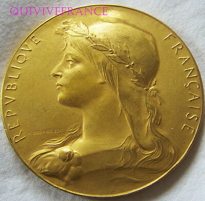 MED5870 - MEDAILLE VIIIe OLYMPIADE PARIS 1924 - JEUX OLYMPIQUES