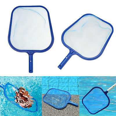 Professional Leaf Rake Mesh Frame Net Skimmer Cleaner Swimming Pool Spa Tool New