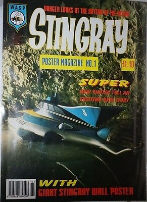 Stingray - Poster Magazine. No 1. 1993. ITC.