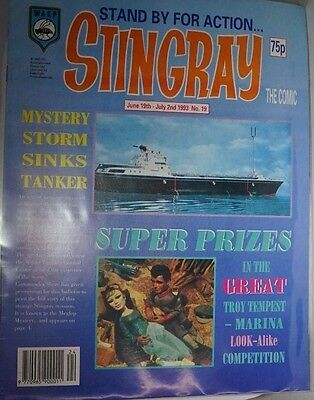 Stingray - The Comic. No 19.June 19th - July 2nd 1993. ITC.
