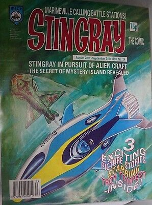 Stingray - The Comic. No 24. August  28th - September  24th 1993. ITC.