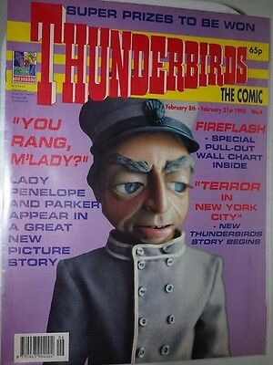 THUNDERBIRDS : THE COMIC #9 February 8th - 21st 1992
