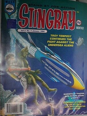 Stingray - The Comic. Vol 2 No.4.January 1994. ITC.