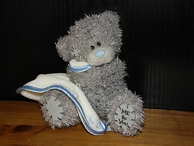 A Hug From Me To You Teddy Bear Soft Toy Tiny Tatty Comforter Carte Blanche