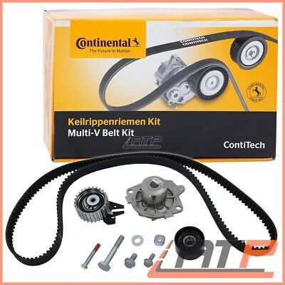 Contitech Timing Belt Kit +Water Pump Alfa Romeo 159 1.9 Jtdm 8V