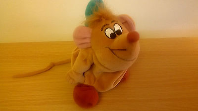 **Disney Cinderella Gus Beanie Soft Toy Mouse**