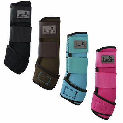 TENDON HORSE BOOTS Fetlock All Sizes Training Wraps from JUMPTEC Pink turquoise