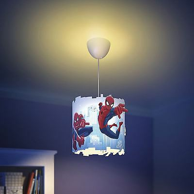 SPIDERMAN PENDANT LIGHT SHADE LAMPSHADE NEW MARVEL by PHILIPS KIDS