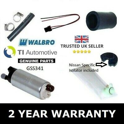 Walbro 255 Fuel Pump Kit For Nissan Skyline R32 R33 Gts / Gts-T / R34 Gtt / Neo