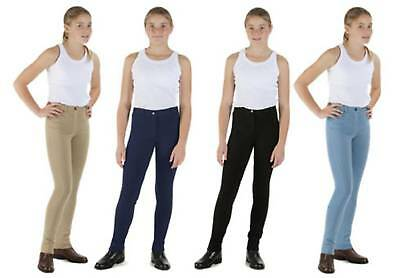 Shires Cotton Creation Childs Jodhpurs Horse Riding, Childrens