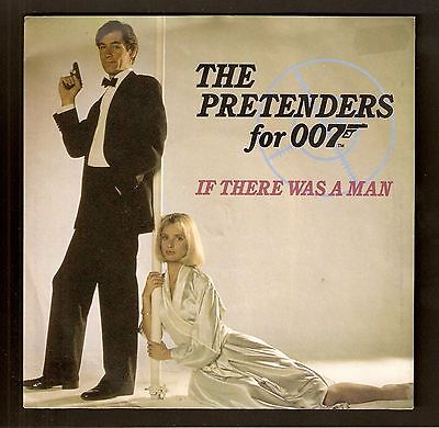"""The Pretenders - If there was a man  7"""" Vinyl 1987 007 Bond The Living Daylights"""