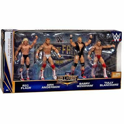 WWE The Four Horsemen Hall of Fame 4 Pack Elite Action Figures 2012 Official New