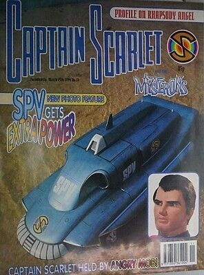 Captain Scarlet - The Comic. No 11. March 1994. ITC.