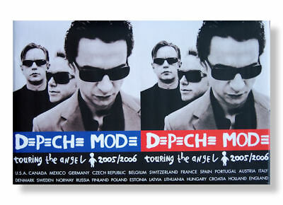 Depeche Mode Double Image Touring The Angel 2005 2006 Wall Poster New Official