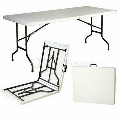 6ft Portable Folding Picnic Camping Party Garden Caravan Trestle Table Event Wed