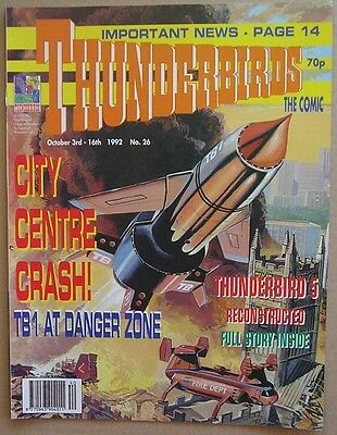 Thunderbirds the Comic Issue 26 from October 1992