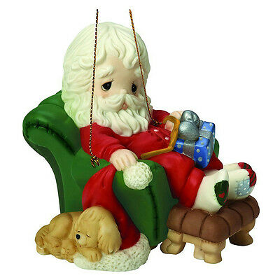 Precious Moments Ornament 2016 Santa Series #8 - And To All A Goodnight - 161031