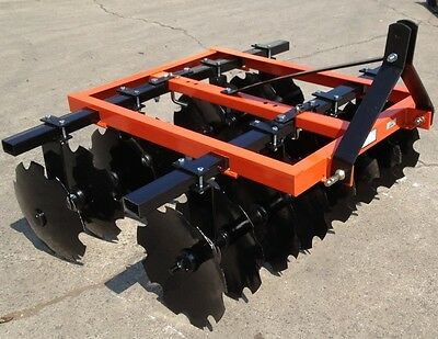 "BRAND NEW 3 point Tractor 78"" D Series disc harrow. 20- 18 inch Discs OR 20-20"""