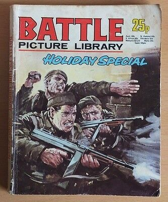 BATTLE PICTURE LIBRARY 1975 Holiday Special, 192 pages 25p cover price.