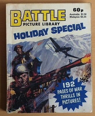 BATTLE PICTURE LIBRARY 1983 Holiday Special, 192 pages 60p cover price.