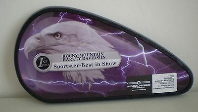 Harley Davidson Rocky Mountain 1st Place Sportster Best In Show Plaque Award