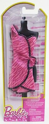 Mattel BCN45 Barbie Single Fashion Outfit for Doll - PINK STRIPES BLACK