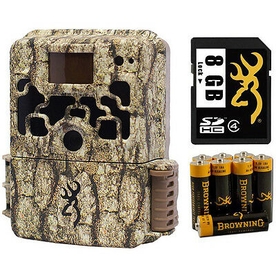 Browning DARK OPS BTC6 Micro Trail Game Camera (10MP) + 8GB Card + Batteries