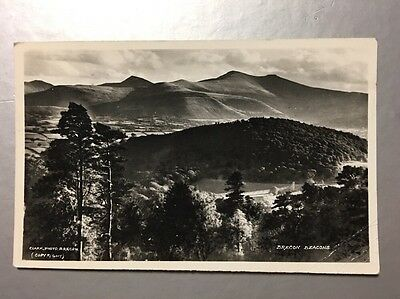 Vintage Postcard BRECON BEACONS WALES Posted 1959 (W80)