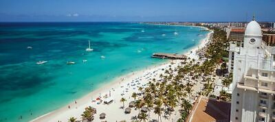 Riu Palace Antillas Aruba Adults Only All Inclusive Vacation 10/16/20
