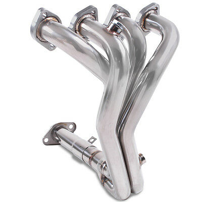 Direnza Stainless 4-1 Exhaust Manifold For Citroen Saxo 1.4 1.6 8V Phase 2 96-04