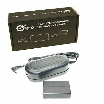 ExPro ACK-E17 AC Power Adapter LP-E17 DR-E17 Battery coupler kit for Canon M3 M6