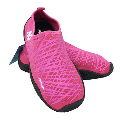 AQURUN Ultra Light Quick Dry Anti-Slip Skin Shoes For Outdoor Water Sports PINK