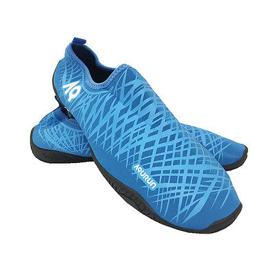 AQURUN Ultra Light Quick Dry Anti-Slip Skin Shoes For Outdoor Water Sports BLUE