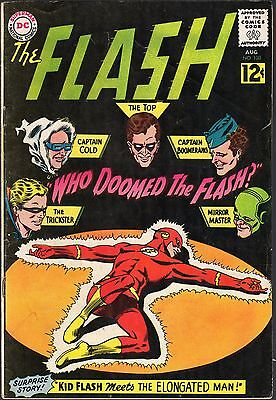 """The Flash # 130-1962-""""who Doomed The Flash?""""-1St Gauntlet Of Super-Villains!"""