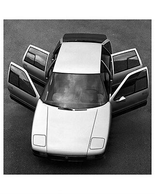 1980 Lancia Medusa Concept Factory Photo ub1885