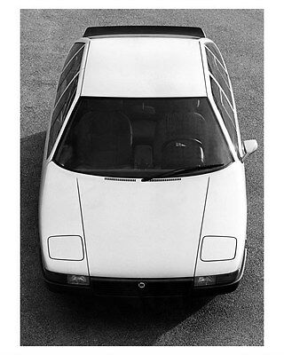 1980 Lancia Medusa Concept Factory Photo ub1886
