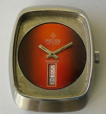 ETA 2789 Movement Working Vintage Potens ETA 2789 Automatic Funciona Retro UFO