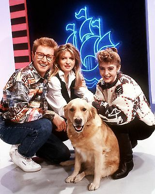 "Blue Peter cast 10"" x 8"" Photograph"