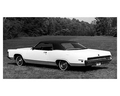 1969 Mercury Monterey Two Door Hardtop Factory Photo ub2057
