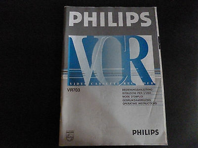 philips vhs dvd recorder manual