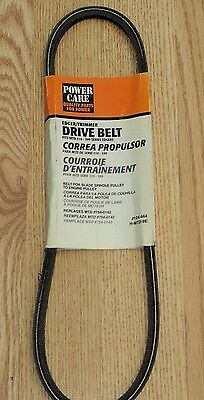 Power Care Edger Belt 124-464 954-0142 754-0142 Troy-Bilt Yard Man H-MTD-9E NEW