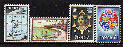 Tonga 1953 High Values To £1 - Set Of 4 Stamps - Mint Not Hinged - High Cat. £