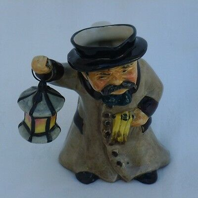Roy Kirkham Night Watchman Toby Character Jug  Excellent