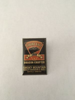 K8) Harley-Davidson HOG 2006 Owners Group Swine Ball Tennessee Motorcyle Pin