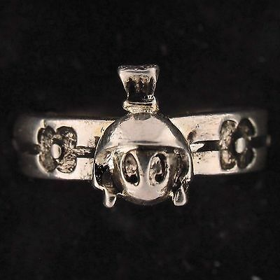 RING Marvin The Martian WARNER BROS LOONEY TUNES Silver FLOWER WB STORE 5713