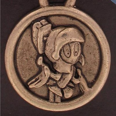 KEYCHAIN MARVIN the MARTIAN WARNER BROS Looney Tunes WB STORE MEDALLION NEW 6154