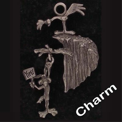 Charm Wile E Coyote Road Runner Warner Bros Looney Tunes Pewter Yipe Wb 4340