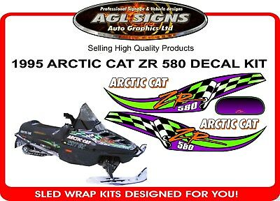 1995 ARCTIC CAT 580 ZR DECALS graphic aftermarket